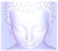 Buda meditación trascendental
