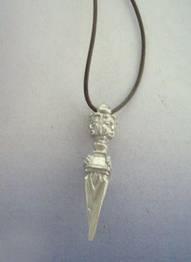 phurba budista puñal daga tibetana de plata