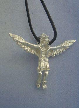 kachina de plata colgante hopi amuleto