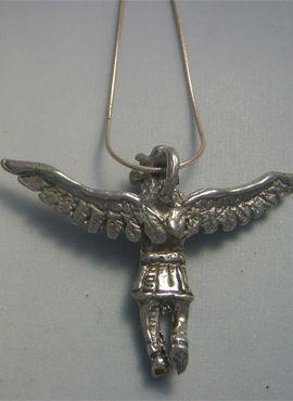 kachina de plata amuleto hopi