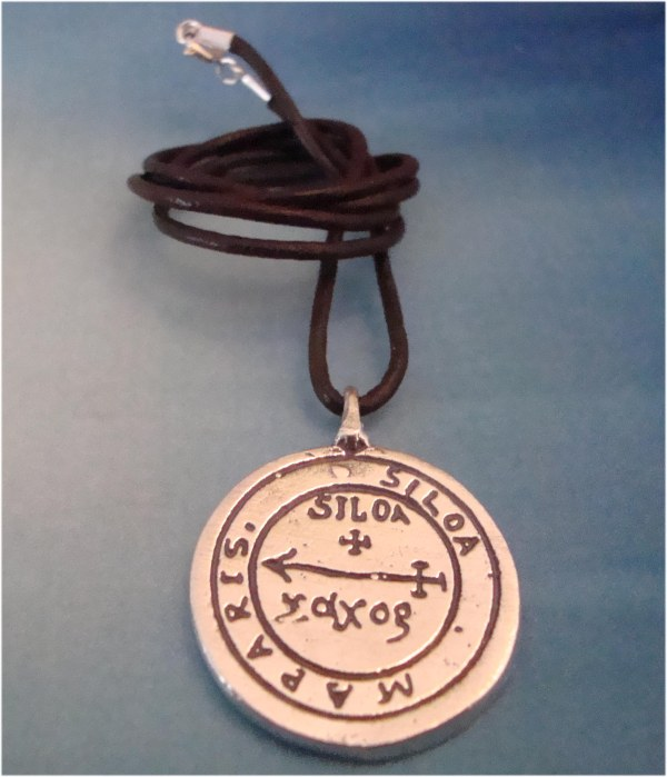 talisman Paracelso pantáculo astrologico sagitario