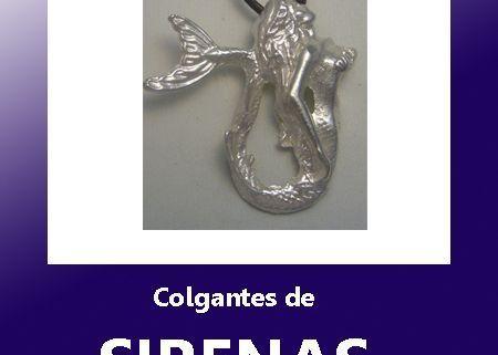 colgantes de sirenas y seres mitológicos marinos