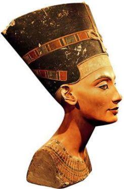 Busto de Nefertiti de Amarna