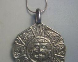 calendario azteca plata piedra del sol Tonatiuh dios