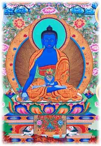 Buda Bhaisajyaguru medicina sanación