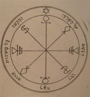 talismán de la luna sexto pantáculo