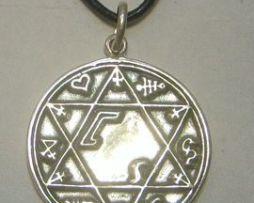 talismán almas gemelas de plata