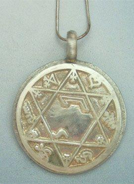 talisman almas gemelas colgante de plata