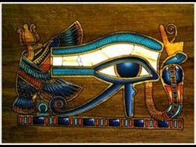colgante ojo de Horus
