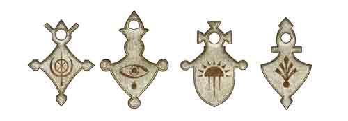 cruz tuareg diferentes estilos