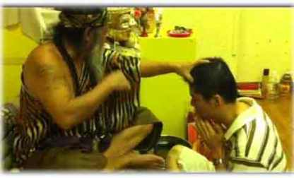 ritual de curación de los Hamdcha