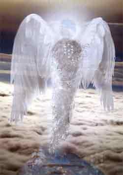 ángel con el símbolo de los sephirots