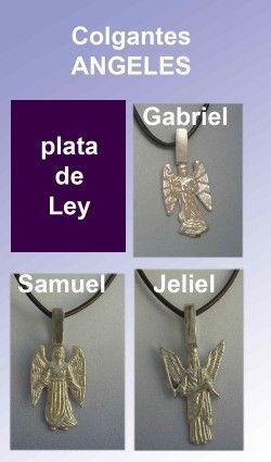 ángelescolgantes de plata de ley 925