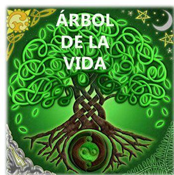 colgante árbol celta pentagrama