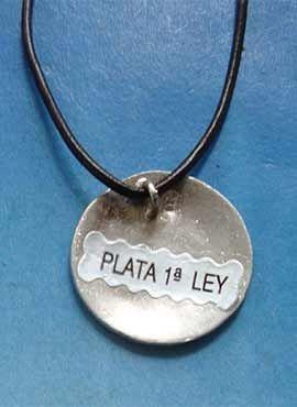 Huitzilopochtli-colgante-de-plata lateral