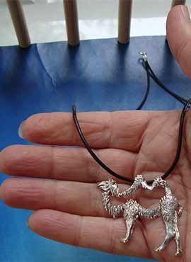 colgante camello de plata de ley