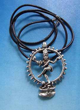collar Shiva Nataraja danzante dios hindú
