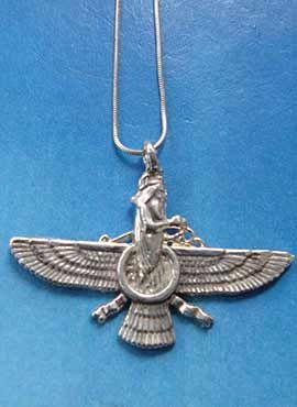 colgante zoroastro faravahar fahura mazda