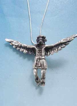 kachina hopi cadena de plata