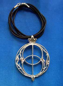 chalice well vesica piscis amuleto celta