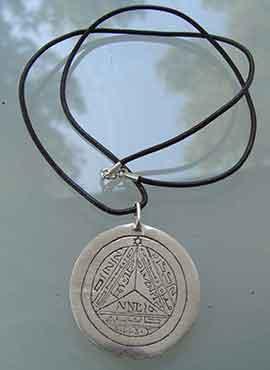gran talismán de Saturno 7º pantáculo de las claves Salomónicas