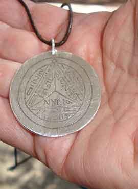 talismán de Saturno septimo pantaculo claviculas salomonicas