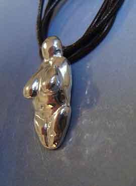 Venus de Menton joya de plata