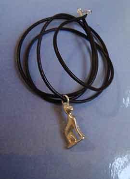 colgante diosa Bastet de Egipto