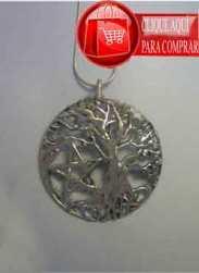 árbol celta de plata con pentagrama