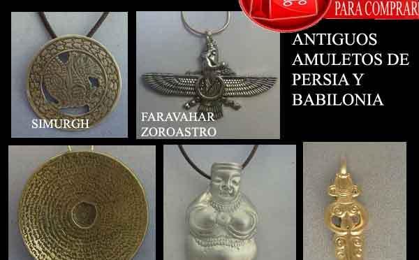 amuletos de Persia y Babilonia