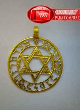 estrella de David oro de ley