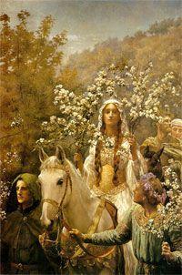 Reina Ginebra, la mujer de Arturo