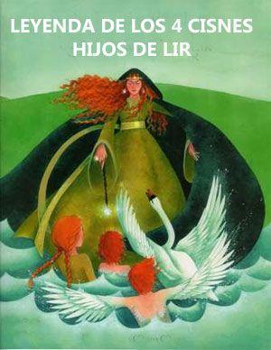 Leyendas celtas de los 4 cisnes hijos de Lir