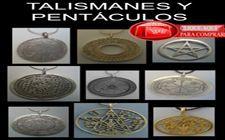 talismanes y pantáculos de varios magos