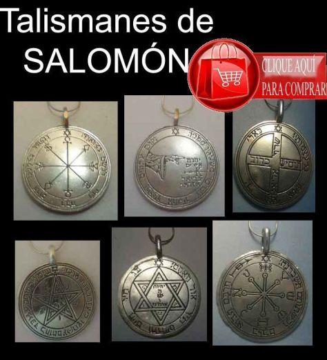 talismanes de Salomón pantáculos sellos claves
