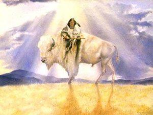 espíritu de la búfala blanca