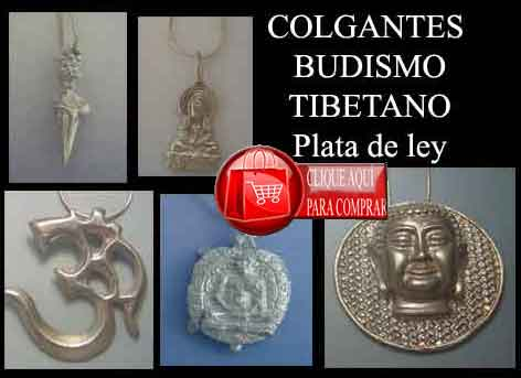 colgantes budismo tibetano