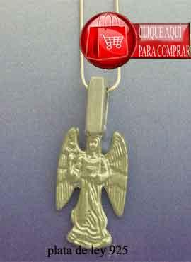arcángel Samuel de plata o de oro