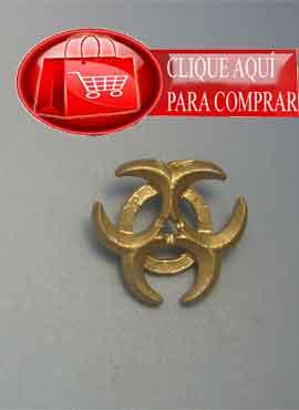 colgante triple diosa oro de ley amuleto celta de la diosa