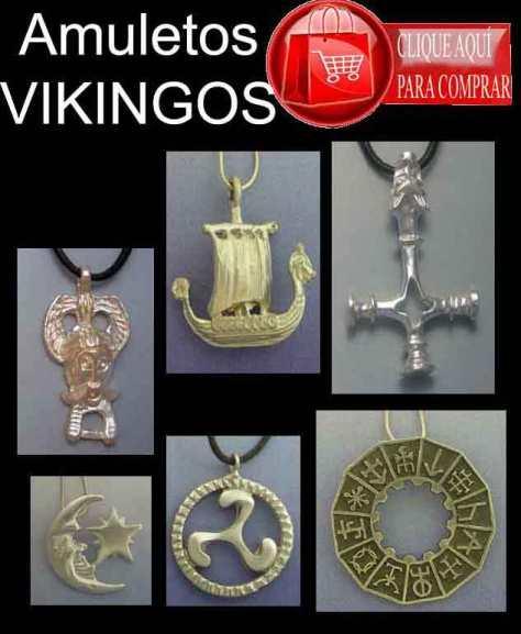 colgantes vikingos
