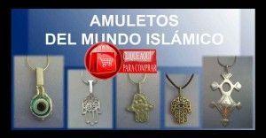 colgantes islámicos de plata