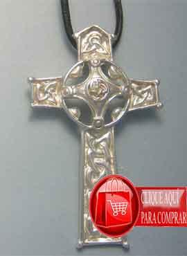 cruz celta plata modelo Ambrosio