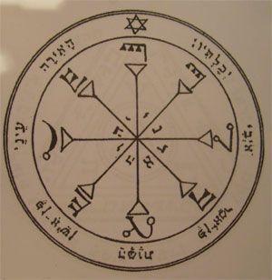 talismanes del sol, 4º pantáculo sello de Salomón
