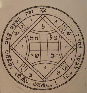 talismanes de Venus, pantáculos sellos de Salomón