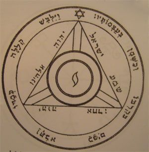talismanes de Saturno, cuarto pantáculo, clavículas sellos de Salomón