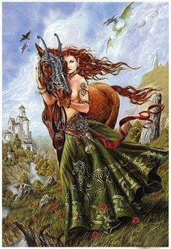 diosa macha leyenda