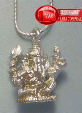 Ganesha colgante del dios elefante del hinduismo