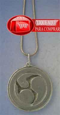 mitsu domo colgante amuleto japonés