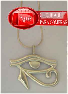 Horus ojo Udjat amuleto del dios egipcio
