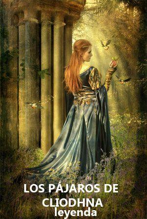 leyendas celtas pájaros de Cliodhna